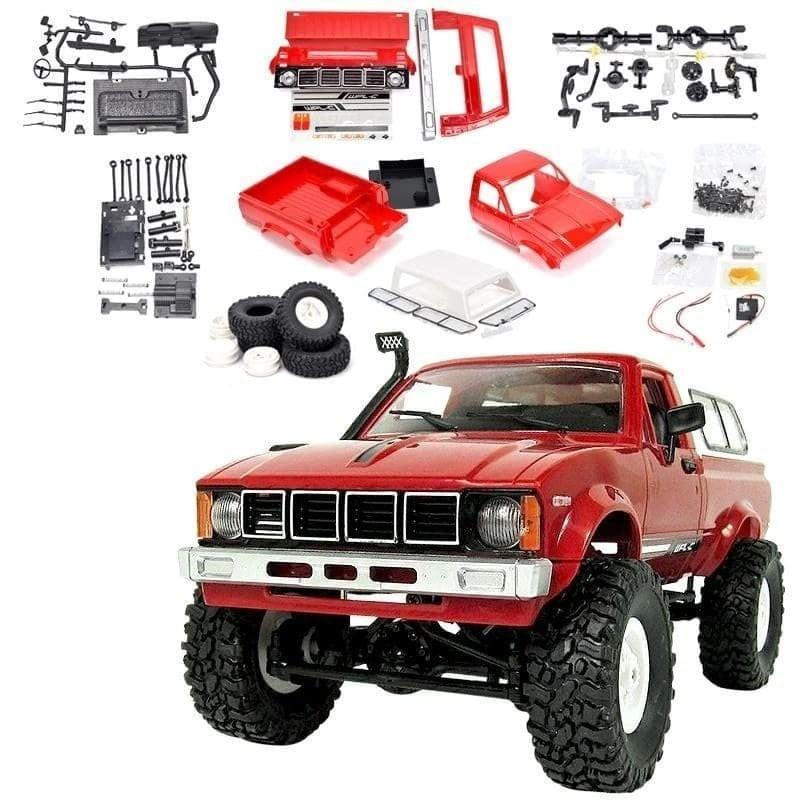 Bug Crusher PRO Monster Truck RC Thermique 1/10 RTR - Version Bleu / Noir